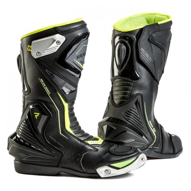 Ботинки Rebelhorn Piston II Black Fluo Yellow
