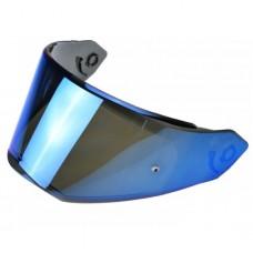Визор LS2 FF324 зеркально голубой