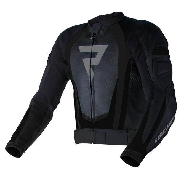 Куртка кожаная REBELHORN PISTON II PRO black