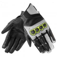 Перчатки кожаные REBELHORN PATROL SHORT black/gray