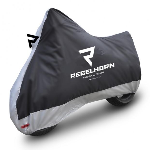 Чехол на мотоцикл Rebelhorn Cover II размеры S,M,L