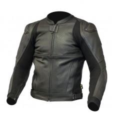 Куртка кожаная OZONE VOLT black