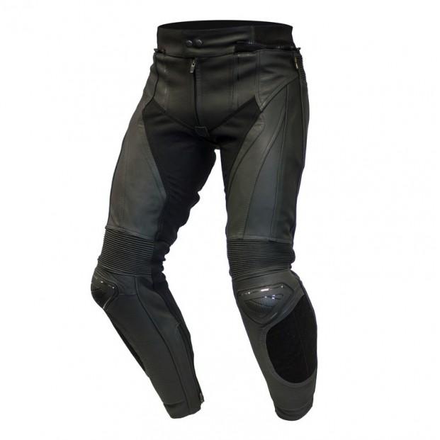 Штаны кожаные OZONE VOLT black