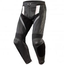 Штаны кожаные OZONE VOLT black/white