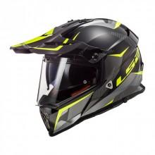 Шлем LS2 MX436 PIONEER RING Titanium HV Yellow
