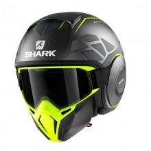 Шлем Shark Street-Drak Hurok Mat anthracite yellow black