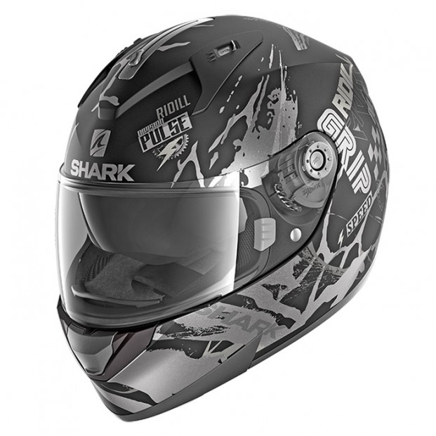 Шлем Shark Ridill Drift-R Black Anthracite Silver