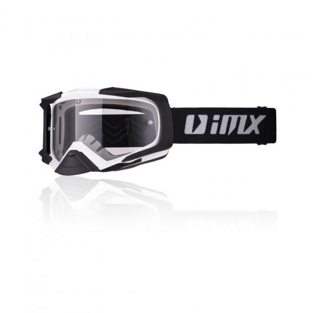 Очки кросс-эндуро IMX DUST white/black matt (2 линзы)