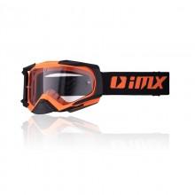 Очки кросс-эндуро IMX DUST orange matt/black matt (2 линзы)
