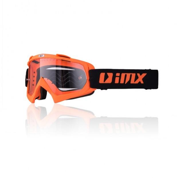 Очки кросс-эндуро IMX MUD orange matt (прозрачная линза)