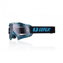 Очки кросс-эндуро IMX MUD graphic blue/black (прозрачная линза)