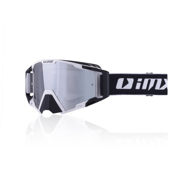 Очки кросс-эндуро IMX SAND white/black matt (2 линзы)