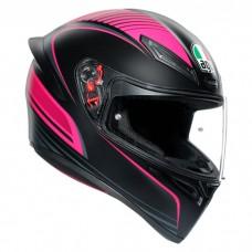 Шлем AGV K1 Warmup Black Pink