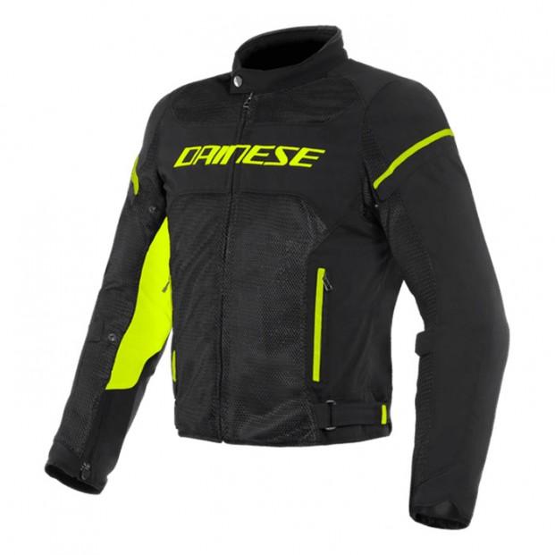 Куртка Dainese Air Frame D1 Tex Black Black Yellow Fluo