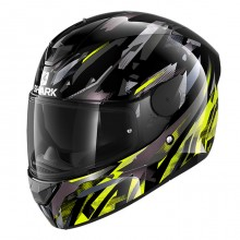 Шлем Shark D-Skwal 2 Kanhji Black Yellow Anthracite