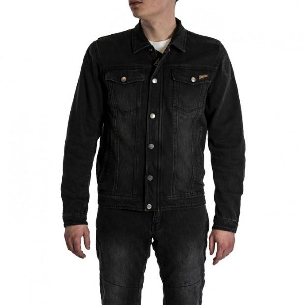 Рубашка Broger Florida Washed Black