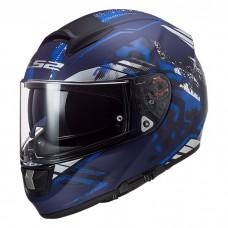 Шлем LS2 FF397 Vector HPFC Evo Stencil Matt Blue