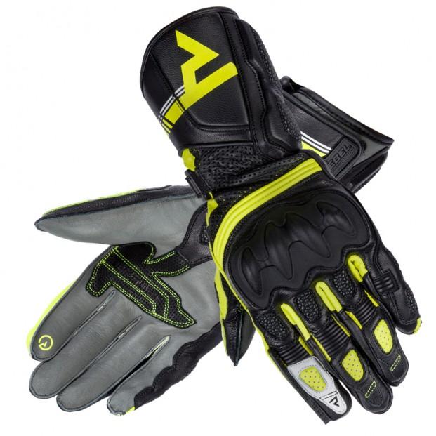 Перчатки женские Rebelhorn ST Long Lady Black/Grey/Flo Yellow