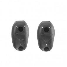 Протекторы плечи/локти/колени SAS-TEC (с липучками) LEVEL 2 Black (2 шт) SCL-2 VELCRO 2