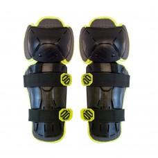 Наколенники SHOT RACING OPTIMAL BLACK/YELLOW FLUO