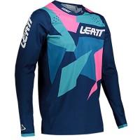 Мотоджерси Leatt Moto 4.5 Lite Jersey Blue/Pink