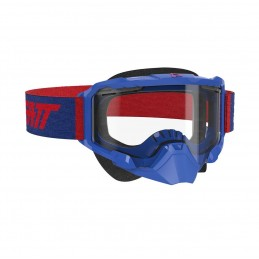 Очки Leatt Velocity 4.5 SNX Goggle Royal Clear