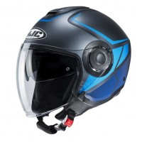 Шлем HJC I40 CAMET Blue/Black MC2SF