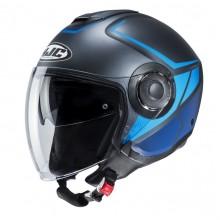 Шлем HJC I40 CAMET Blue/Black MC2SF