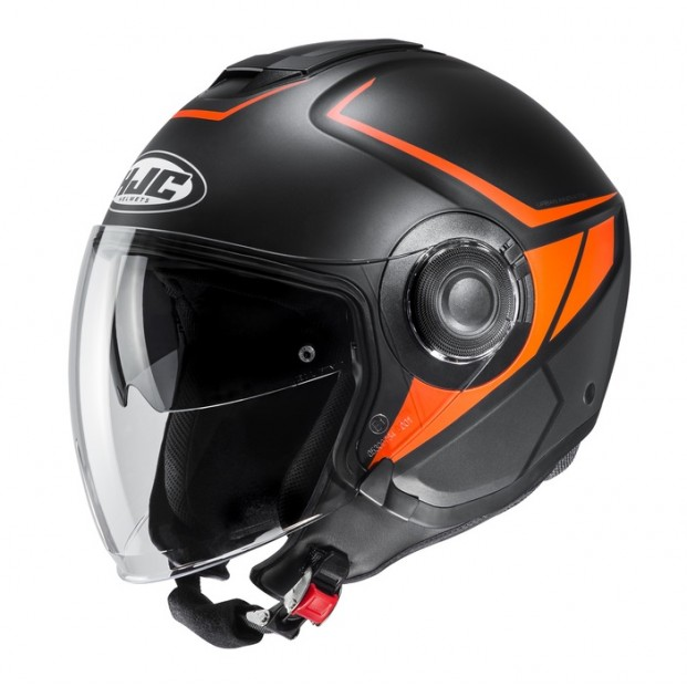 Шлем KASK HJC I40 CAMET Orange/Black MC7SF