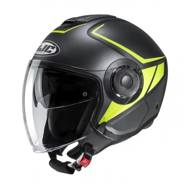 Шлем HJC I40 CAMET Yellow/Black MC4HSF