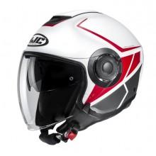 Шлем HJC I40 CAMET Red/White MC1SF
