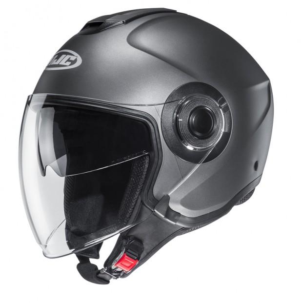 Шлем HJC I40 SEMI FLAT Titanium