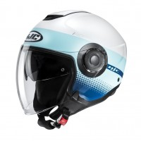Шлем HJC I40 UNOVA White/Blue MC24SF