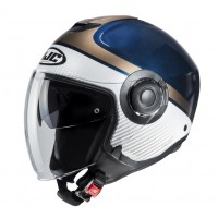 Шлем HJC I40 WIROX White/Blue MC2