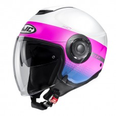 Шлем HJC I40 UNOVA White/Pink MC8SF