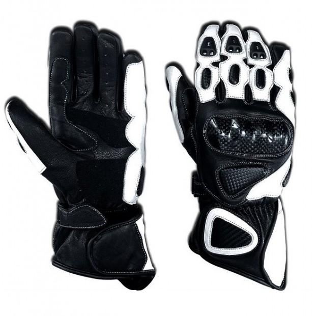 Перчатки TSCHUL 212 черно-белые