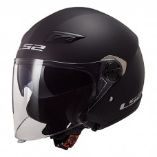Шлем LS2 OF569 Track Solid Black