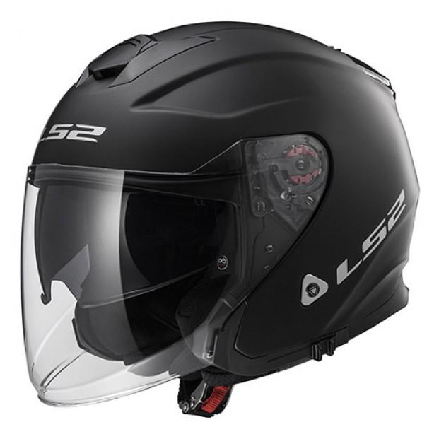 Шлем LS2 OF521 Infinity Solid Matt Black