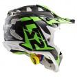 Шлем LS2 MX470 Subverter Nimble Black White Green