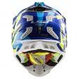 Шлем LS2 MX470 Subverter Nimble White Blue H-V Yellow