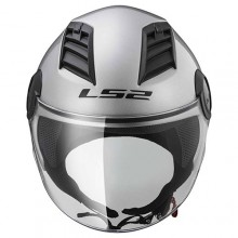 Шлем LS2 OF562 Airflow Solid Silver