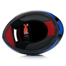 Шлем LS2 FF353 Rapid Deadbolt Black Blue