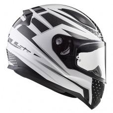 Шлем LS2 FF353 Rapid Carborace White Black