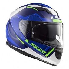 Шлем LS2 FF320 Stream Evo Axis Blue White
