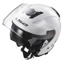 Шлем LS2 OF521 Infinity Solid White