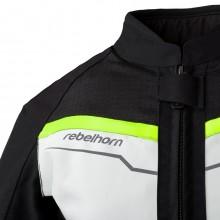 Куртка REBELHORN DISTRICT LADY Ice/Black/Fluo Yellow