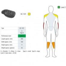 Протекторы плечей SAS-TEC (с липучкой) Level 2 (пара) SC-1/01 VELCRO