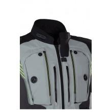 Куртка текстильная REBELHORN PATROL gray/black/flo yellow