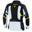 Куртка текстильная REBELHORN HARDY II LADY gray black fluo yellow
