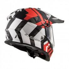 Шлем LS2 MX436 PIONEER XTREME Matt Black Red